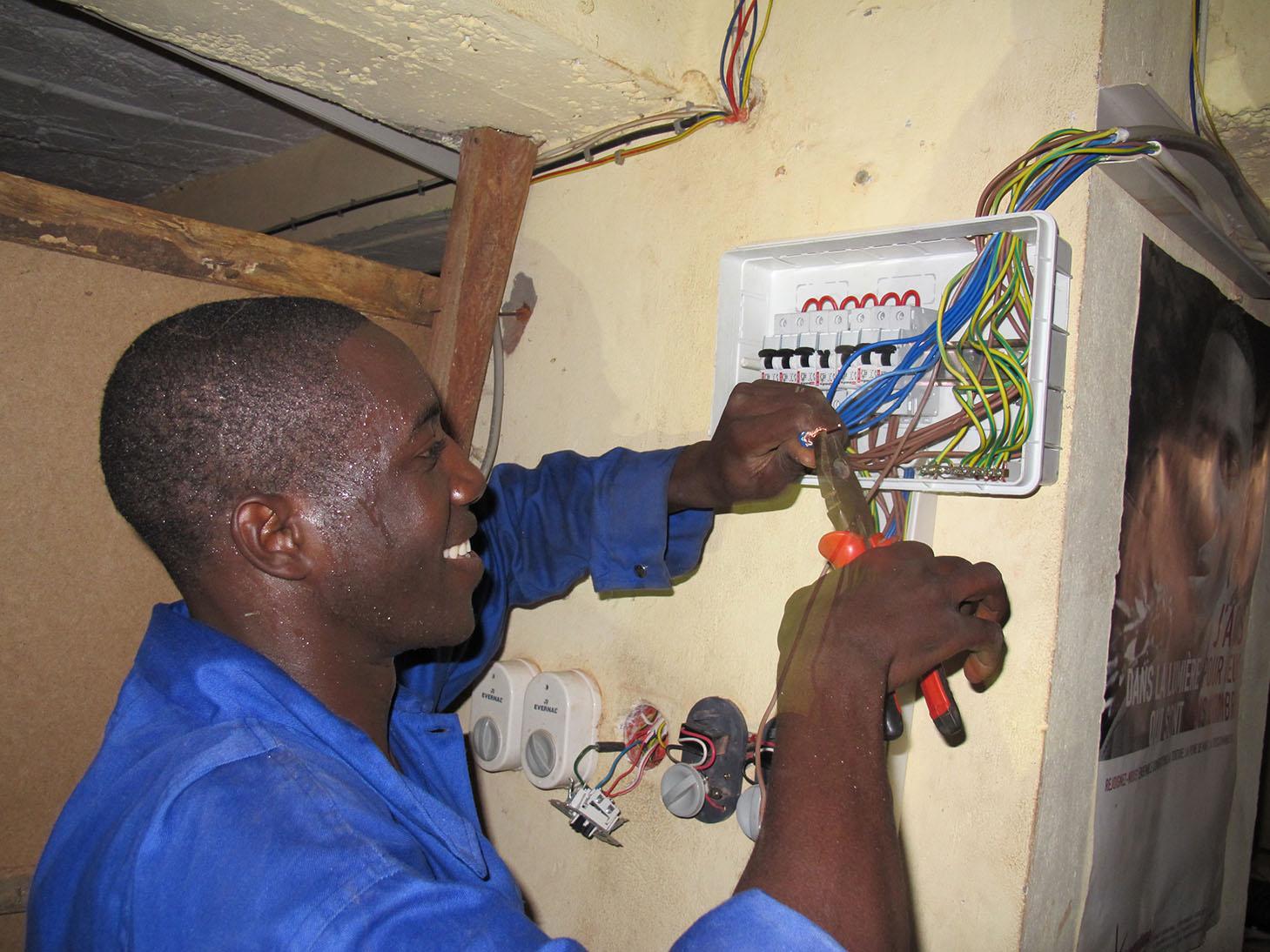 Electricité et domotique en Afrique