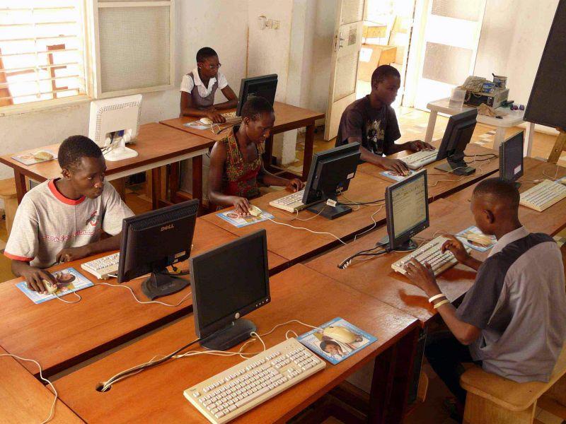 Cybercafé en Afrique