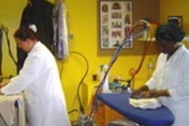 Laverie automatique en Afrique