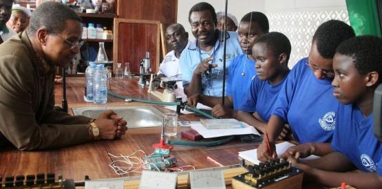 Mise en place d'une formation professionnelle en Afrique